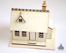 Dolls House Miniature 1/48th Laser Cut Kit Model - HONEYSUCKLE COTTAGE