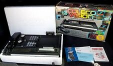 ColecoVision Black Console Donkey Kong System Bundle Complete in Box W/ Manuals