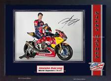 Nicky Hayden Autograph print signed photo picture FRAMED