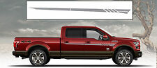 Gray Body Side Vinyl Graphics for Cars and Trucks