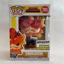 Funko Pop! Endeavor Amazon Exclusive Glow in the Dark MHA My Hero Academia 785