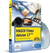 MAGIX Video deluxe 17 - mit Videomaterial zum Üben: Das farbige Handbuch: auch f