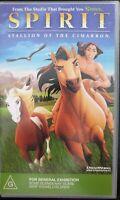 Spirit - Stallion of the Cimarron (DreamWorks animated film) VHS Video