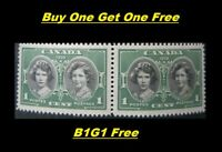 Buy One Get One Free - 1939 Royal Visit Canada 1 Cent Stamp  - NH VF