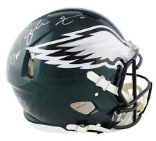 Carson Wentz & Zach Ertz Signed Philadelphia Eagles Speed Authentic NFL Helmet