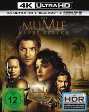 """DIE MUMIE KEHRT ZURÜCK"" - Dwayne Johnson - 4K ULTRA HD BLU RAY 2-Disc-Set - OVP"
