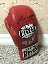 "RICKY ""HITMAN"" HATTON SIGNED AUTO CLETO REYES BOXING GLOVE PROOF RARE PSA"