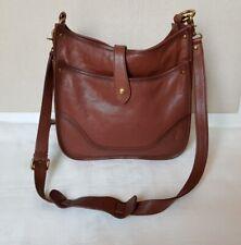 Frye Leather Side Pocket Hobo in Cognac Brown 34db323