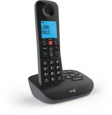 New BT Essential Call Blocking Single DECT Home Cordless Phone & Answer Machine