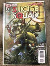 SUICIDE SQUAD #2 FIRST PRINT DC COMICS (2011)HARLEY QUINN DEADSHOT BATMAN JOKER