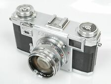 Contax IIa color dial Nr. A 48640 mit Zeiss - Opton Sonnar 1,5/50 T Nr. 90398