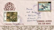 1981 Honduras cover sent from Tegucigalpa to Berlin Germany