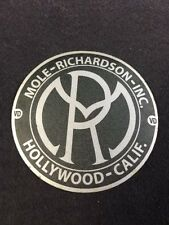 Mole Richardson Hollywood Decal Steampunk ARRI Bardwell Mcalister Studio Grey