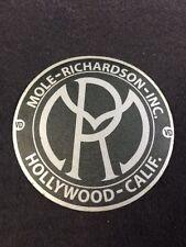 Mole Richardson Hollywood Decal Steampunk ARRI Bardwell Mcalister Studio Grey