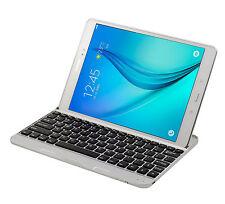 "Aluminum Bluetooth 3.0 Keyboard For Samsung Galaxy Tab A 9.7"" SM-T550 T555 T551"