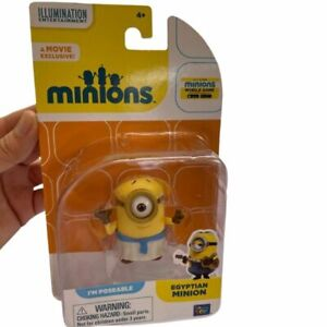 "Minions Egyptian ""I'm Poseable"" A Movie Exclusive Illumination Entertainment NEW"