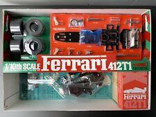 58142 VINTAGE TAMIYA Ferrari 412 T1 F1 BRANDNEW NIB RARE