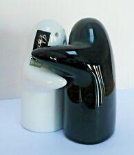 Hugging Ghosts Salt and Pepper Shakers Verdici Design Black and White