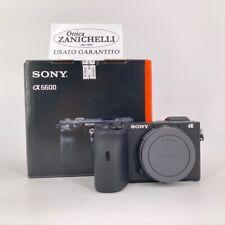 Sony A6600 Body Usato  + 2 batterie compatibili  1350 Scatti  OTTIME CONDIZIONI
