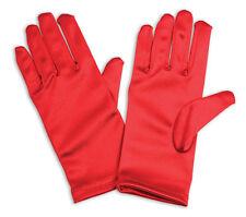 Rojo #gloves para niños de un tamaño de Disfraces, Halloween Navidad Accesorio