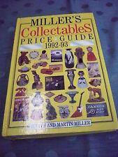 beau Ouvrage spécialisé__miller`s objets de collection__1992-93__