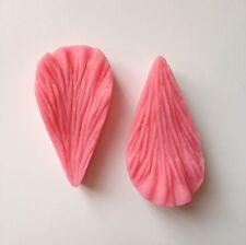 2 Pcs Leaf Petal Petals Soft Silicone Mold Fondant Mat Cake Decorating Cupcake L