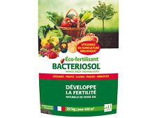 Bactériosol, Engrais organique, procédé Marcel Mézy, fertilisant, (20kg) 650m²
