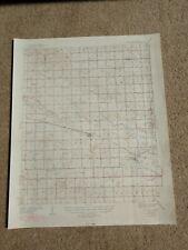 22x29 1949 USGS Topo Map Fort Reno, Oklahoma Calumet Arapaho Agricultural School