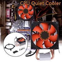 CPU Cooler Double Heatpipe Radiator for Intel LGA775/1155/1156 AMD/AM2/AM2+/AM3