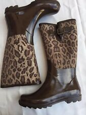 BCBG Maxazria Madison Rubber Rain Boots Size 7 see notes
