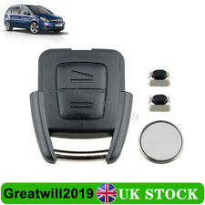 For Vauxhall Astra G Vectra B Zafira A 2 Button Key Fob Case  Battery Repair Kit