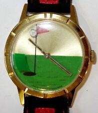 Sportliche mechanische Armbanduhren (Handaufzug) mit vergoldetem
