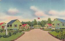 Postcard Green Gables Bungalow Court Cavendish Prince Edward Island Canada