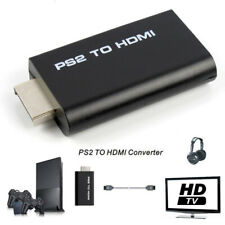 1 PS2 to HDMI Video Converter Composite AV to HDMI PlayStation 2 HD Adapter 2018