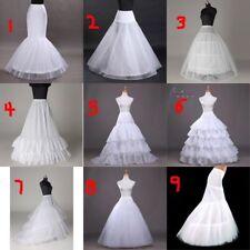 Bridal Hoop Petticoat Crinoline Underskirt Wedding Prom Dress Ball Gown Slips @@