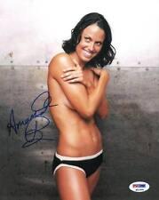 Amanda Beard Signed Playboy Authentic Autographed 8x10 Photo (PSA/DNA) #P51909