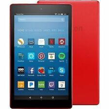 "Amazon Fire HD 8 32GB 8"" HD Display with Alexa, Punch Red with Special Offers"