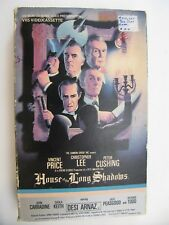 House of The Long Shadows-1982-VHS Tape Big Box Desi Arnaz Vincent Price