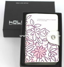 Leather Floral Wallets for Women