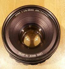 KOWA six 66 85MM F 2.8 LENS FOR MEDIUM FORMAT film camera