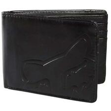 Fox Racing Men's Core Wallet Black with Zipper NS 20799