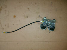 11 12 13 2012 HONDA CBR 250 250R OEM REAR SEAT LATCH AND CABLE