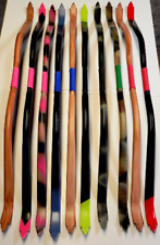 Mounted Archery Recurve Bows  51 in. CUSTOM Bows 25-35 lb Made for Mounted Arche