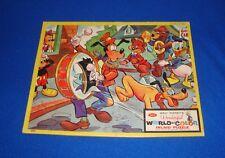 Vintage Disney Tray Puzzle Complete