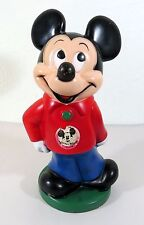 "Mickey Mouse Club 11"" Coin Bank - Walt Disney By Play Pal Plastics"