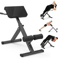 Back Hyperextension Adjustable Bench Extension Exercise Roman Chair WaistFitness