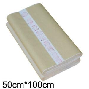 100pcs Chinese Rice Paper Calligraphy Painting Paper Blank Xuan Paper Stationery