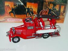 Matchbox MOY FIRE ENGINE SERIES 1932 FORD AA -Red, 1/43 MIB