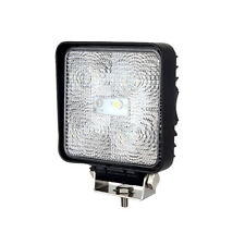 Black 5 x 3W LED Work Lamp with With Flying Lead - Durite 0-420-44