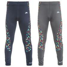 Trespass Graceful Girls Leggings Navy Reflective Sport Pants For Gymnastics